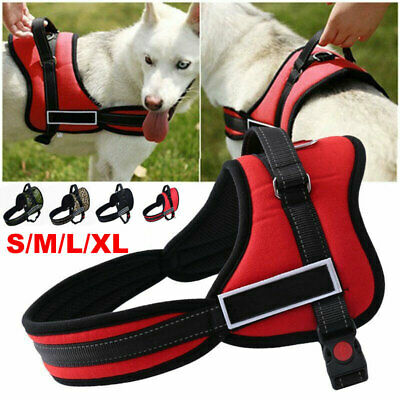 Control Large Small Dog Pulling Harness Adjustable Support Comfy Pet Train Vest