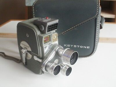 vintage Keystone K-27G movie camera