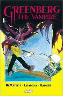 Greenberg the Vampire, J.M. Dematteis, Mark Badger, Excellent Book