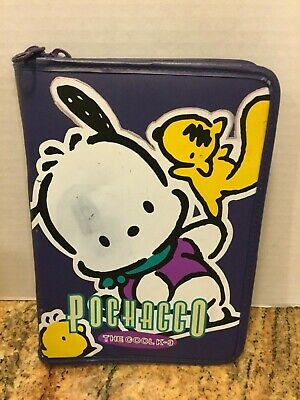 Pochacco The Cool K9 Zipper Notebook Diary Journal Agenda Planner 1997 Sanrio