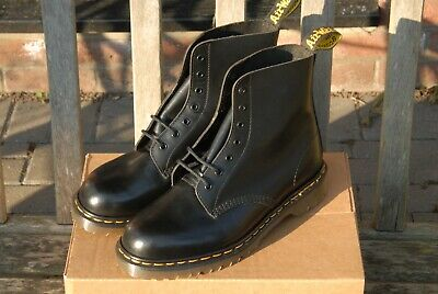 Dr Martens 1460 Made In England Seven Hole Boots Black Size 9 New And Unused