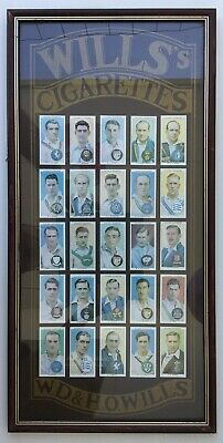 Colección 25 cromos de jugadores de Cricket - PLAYER'S CRICKETER CIGARETTES WILL