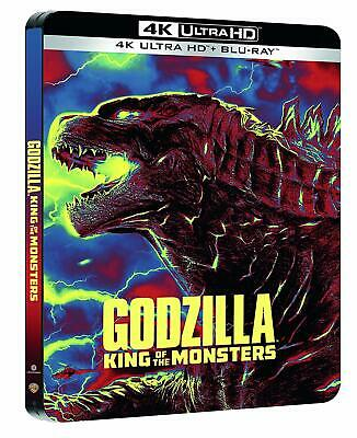 Godzilla: King of the Monsters (4K UHD + Blu-ray Steelbook) NEW - PRE-ORDER