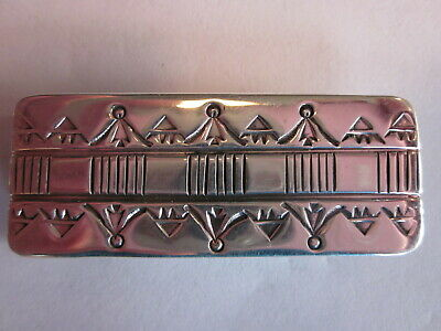Bruce Morgan Heavy Stamped Southwestern Style Men's Money Clip!