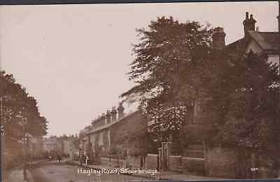 Postcard - Real Photo-Hagley Road Stourbridge