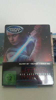 Bluray Steelbook Star Wars Episode 8 VIII - Die letzten Jedi Neu&OVP