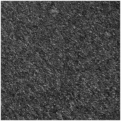 CHEAP HEAVY DUTY Black Grey Berber Loop Pile 4m Wide Carpet £3.99m² BEST SELLER