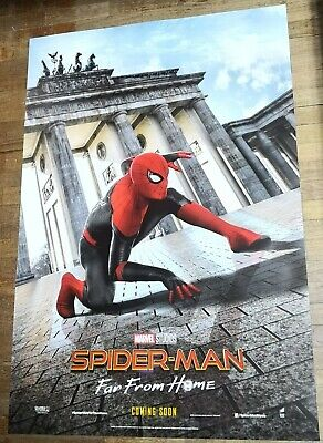 Spider-Man FAR FROM HOME Orig INTL 27x40 DS Movie Poster B Germany Tom Holland
