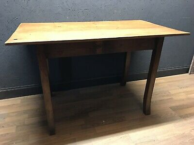 Antique Pine Topped Table