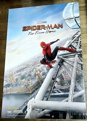 Spider-Man FAR FROM HOME Orig INTL 27x40 DS Movie Poster D England Tom Holland