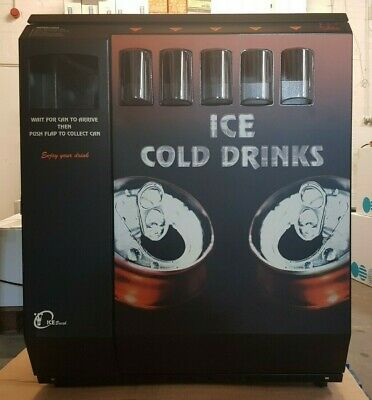 Darenth MJS Ice Break Chilled Drinks Can Vending Machine