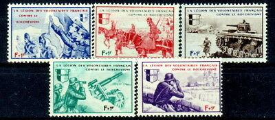 1941 German Third Reich. French Legeon, MNH OG Catalog $65.00