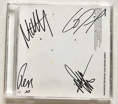 The 1975 - A Brief Inquiry Into Online Relationships Signed Cd Autographed New