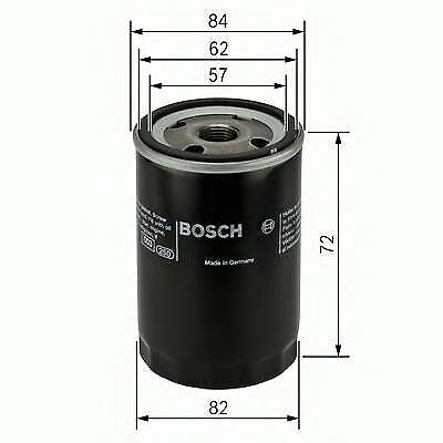 New Engine Oil Filter Oe Quality Replacement Bosch 0451103316