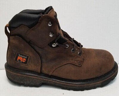ee1f17fae8a TIMBERLAND PRO 33034 Pit Boss Steel Toe Men's 24/7 Work Boots 6 ...