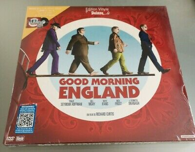 ultra rare !! good morning england coffret collector dvd+ vinyl