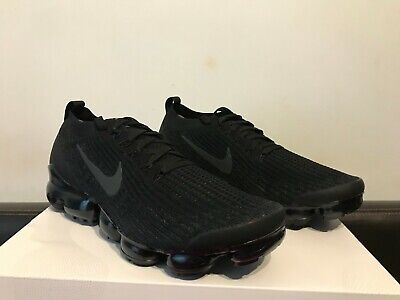 Brand New Nike Air Vapormax Flyknit 3 Black Trainers Size UK10