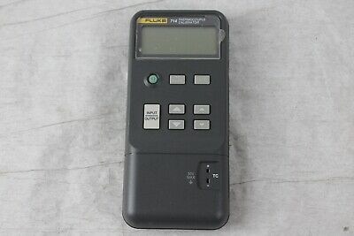 Fluke 714 Thermocouple Calibrator - Does Not Read Correctly (Powers On)
