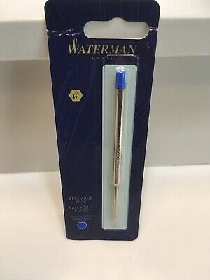 Waterman Rollerball Pen Refill Recharge Fine Point Black Ink New 540951PP