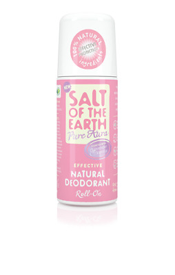 Salt of the Earth - Lavender & Vanilla Natural Roll-On Deodorant (75ml)