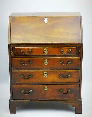 Mid 18th Century Mahogany Bureau of VERY Small Proportions