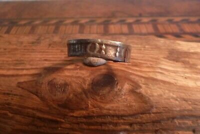 Late Medieval Ring with Unusual Decoration-British Detecting Find