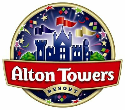 Alton Towers Tickets - Friday 9Th August 2019