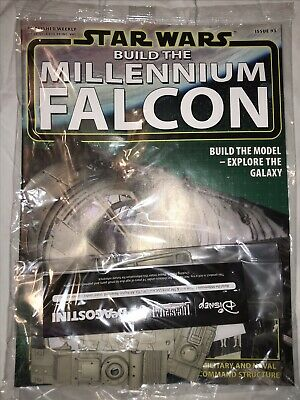 DEAGOSTINI STAR WARS BUILD THE MILLENNIUM FALCON Issue 93 Hull Panels & Details