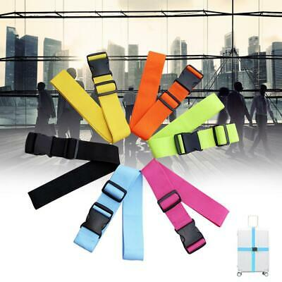 Adjustable Luggage Baggage Security Strap Belt Bag Suitcase Secure Lock Pack NG