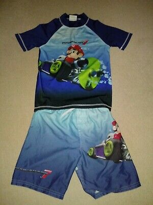 fe8c792ce0bd2 Primark Boys Super Mario Swimming Swim Shorts Trunks Age 2 - 3 Years.