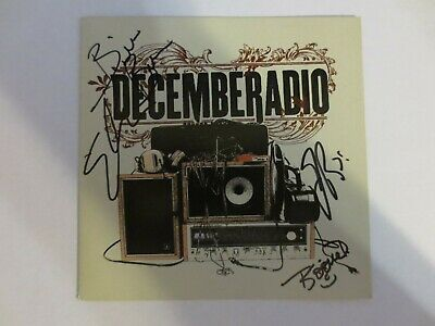 Decemberadio - Self-titled CD SIGNED AUTOGRAPHED preorder Very Good