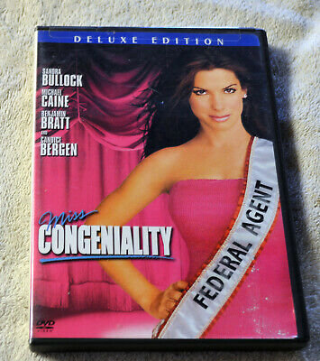 Miss Congeniality (DVD, 2005, Deluxe Edition) VG