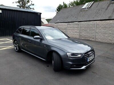 Audi A4 Avant 2.0 Tdi S Line Black Edition Grey Estate Diesel 2014