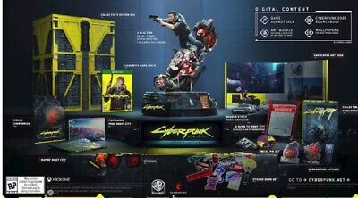 Cyberpunk 2077 Collector's Edition Xbox One *Prevendita* Nuovo Region Free