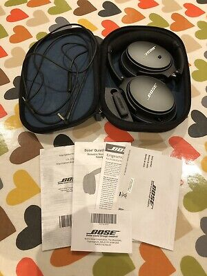 Bose QuietComfort 25 Over the Ear Noise Cancelling Headphones - Black