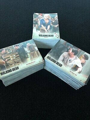 The Walking Dead Season 3 Mixed Card Lot Doubles Included
