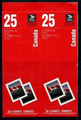 Weeda Canada BK139c Complete booklet of 50 with Tab Inscriptions CV $125