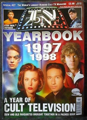 TV Zone Yearbook 1997 1998 Magazine, x files, star trek voyager ds9, doctor who