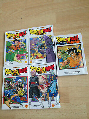 5 x Dragon Ball Dragonball Super Manga Book Collection ENGLISH + Yamcha Special