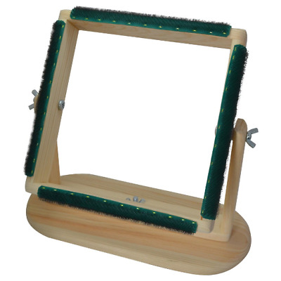 """12"""" x 12"""" - Rug Hooking Swivel Frame - Portable, Affordable-Great for Beginners"""