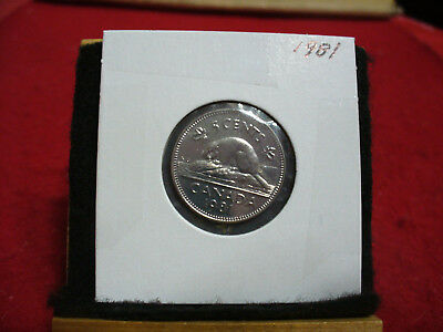 1981  Canada  1  Nickel 5 Cents  Coin  Proof Like Sealed  81    High  Grade