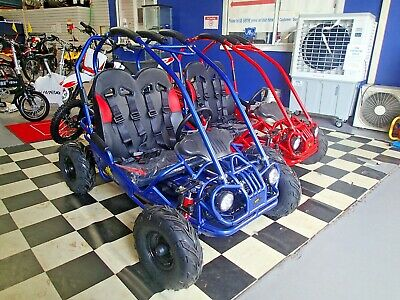 ASSEMBLED BLUE BILBY 160cc 4 STROKE BUGGY, GO KART, AUTOMATIC E/START QUAD ATV