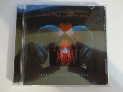 Project 86 -  Sheep Among Wolves CD 2017 SIGNED AUTOGRAPHED preorder V.G.