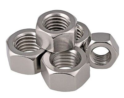 M8 Hex Full Nut Din 934 A2 Stainless Steel Hexagon Nut