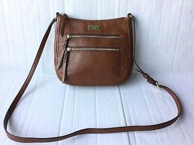 fdfb6152cea COLE HAAN SMALL Brown Leather Purse - $24.99 | PicClick
