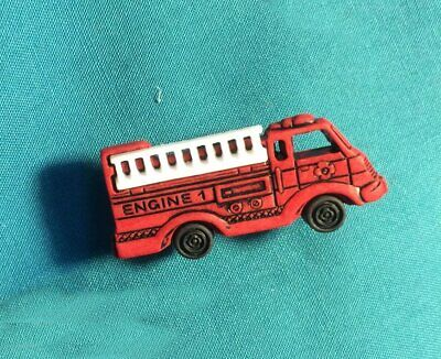 Cute Firefighter Rescue Engine Truck Fire Rescue Holey Clog Shoe Charms Charm