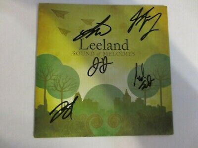 Leeland - Sound of Melodies CD insert 2007 SIGNED AUTOGRAPHED preorder Good
