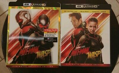 Disney Marvel Ant-Man And The Wasp (4K Ultra HD/Blu-ray 2-Disc Set) No Digital