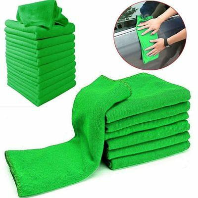 5/10x Microfiber Cleaning Auto Car Care Detailing Soft Cloths Wash Towel Duster!