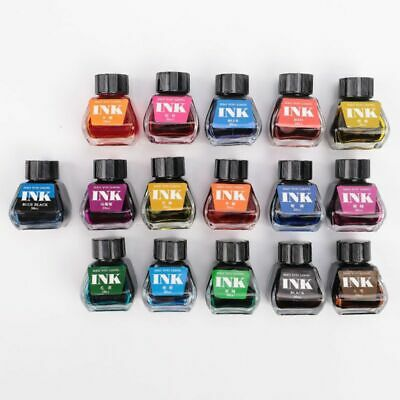 30ml Bottled Glass Writing Fountain Pen Ink Refill School Student Stationery